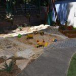 WMCC Pebbles and sandpit
