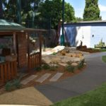 WMCC cubby and sandpit